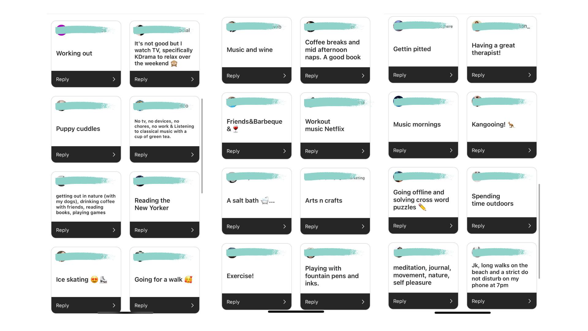 mental health responses